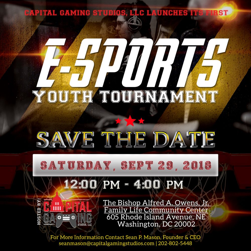 Gaming Save the Date